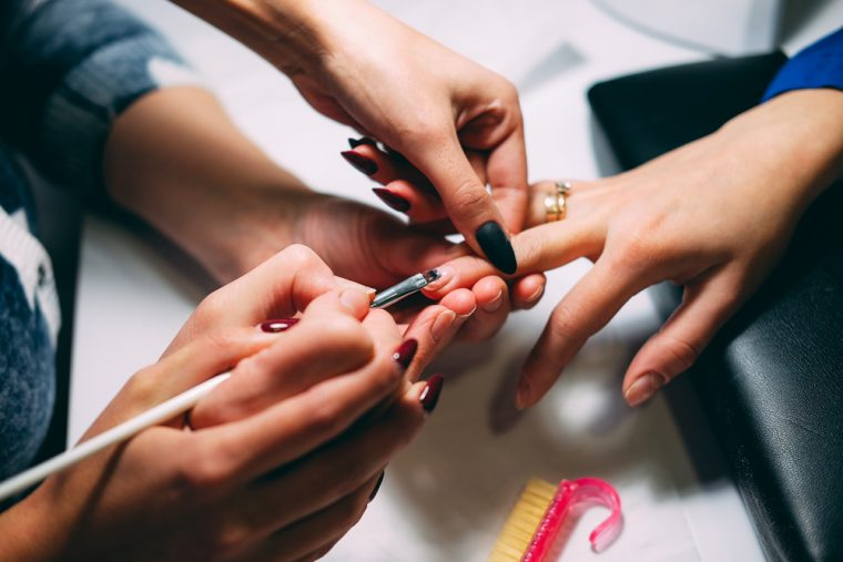 nail tech training course